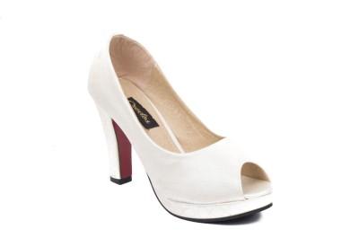 Credos Women Silver Heels