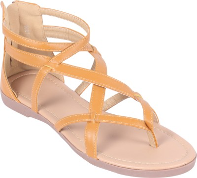 Rialto Women Tan Flats