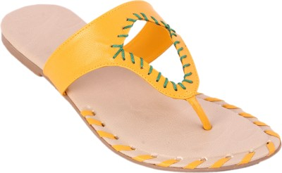 Tycoon Women Yellow Flats