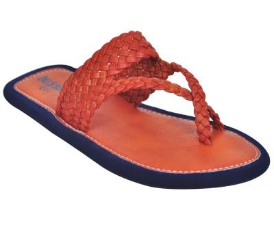 Domestiq Men Tan Sandals