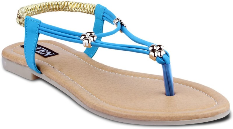 TEN Women Blue Flats