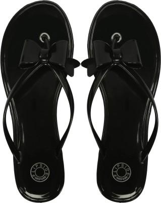 Flipside Women Black Flats