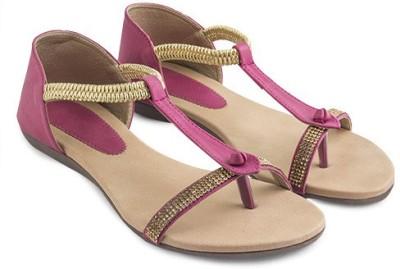 Elite15flats Women Pink Flats