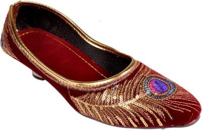 Rajawadi Girls Red Sandals