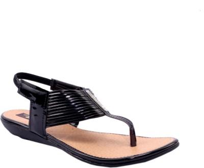 Rimezs Women Black Flats