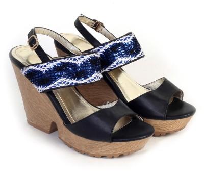 Bello Pede Women Black Heels