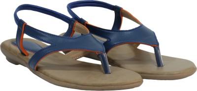 Scarlet Women Blue Flats