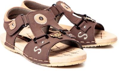 Trilokani Boys Brown Sandals