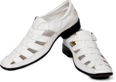 EL Paso Men White Sandals