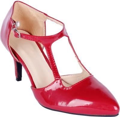 Aqua Women Red Heels
