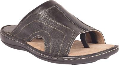 Invixo Elyte Chappal, Thong Men Black Sandals