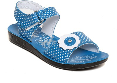 Lancer Girls Blue Flats