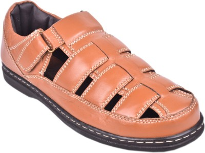 Papa Men Tan Sandals