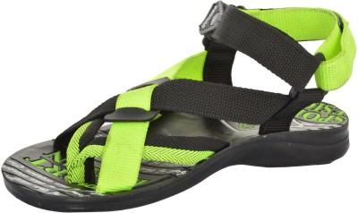 Poddar Men Green Sandals