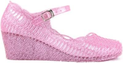 Heaven Deal Women Pink Wedges