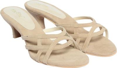 Cocoon Women Beige Heels