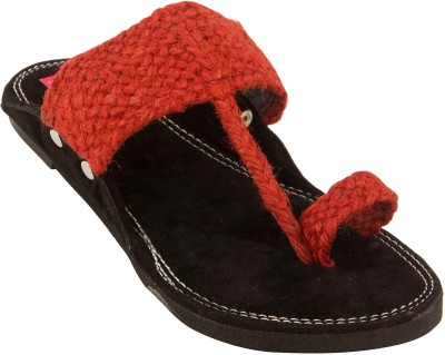 Footrendz Men Red Sandals