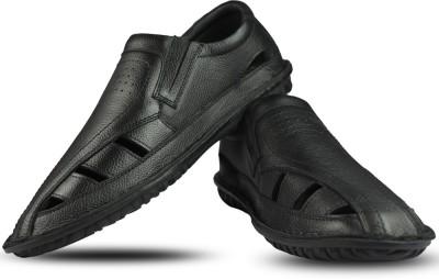 Blue Harpers Men Black Sandals