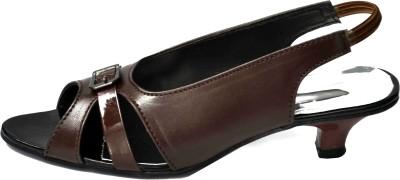 Aadolf Women Brown Heels