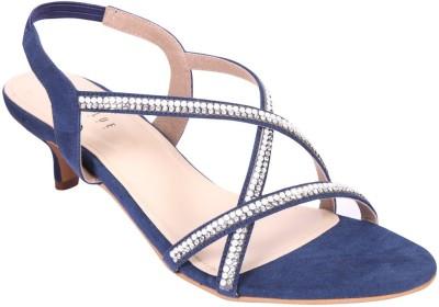Wet Blue Women Blue Heels