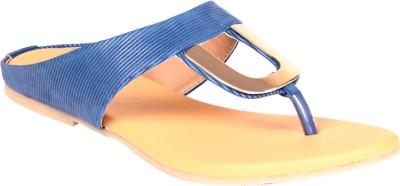 Soft & Sleek U Shape Blue Ballerina Girls Blue Flats
