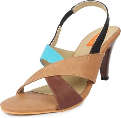 Cara Mia Women Beige Heels