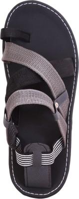 Anav Men Black, Grey Sandals