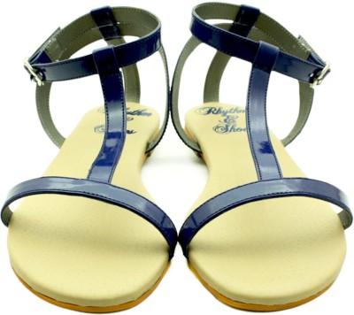 Rhythm & Shoes Women Navy Flats