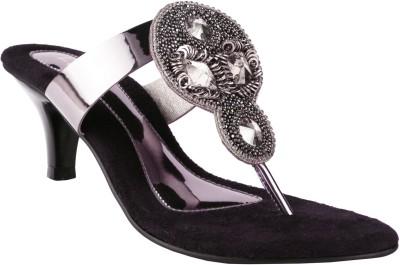 Liza Women Grey Heels