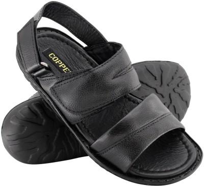 Copper C-7226 Men Black Sandals