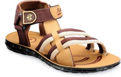Ascott Men Brown, Green Sandals