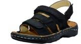 Feetway Men Black Sandals