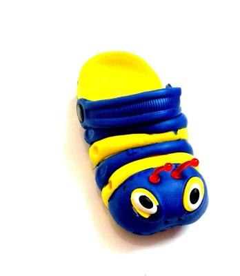 Snapin Baby Girls, Baby Boys Yellow Sandals