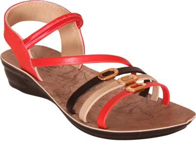 Delux look Women Red Flats