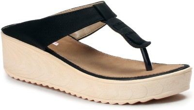 Meriggiare Women Black Wedges