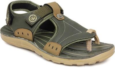 Walkline Boys, Men Beige Sports Sandals