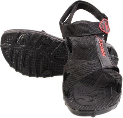 Buywell Men Black Sandals