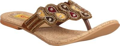 Tulaasi Women Gold Flats