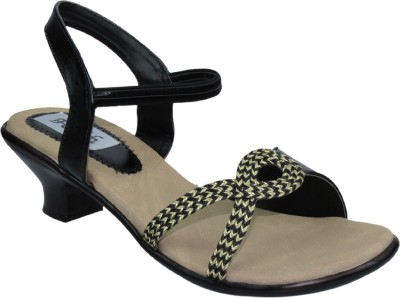 Faith Women Black Heels
