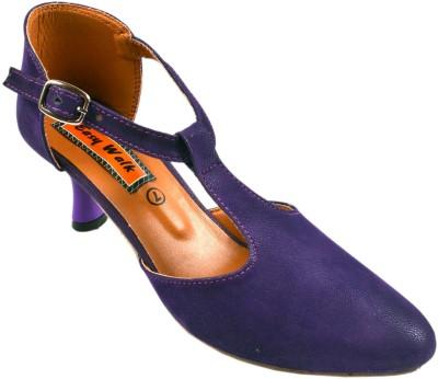 easy walk Women Blue Heels