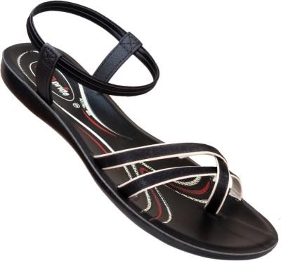 VKC Women Black Flats