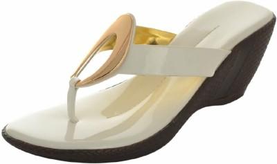 LOHAR Women White Heels