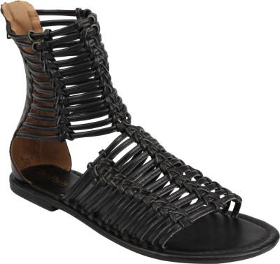 Tao Paris Women Black Flats