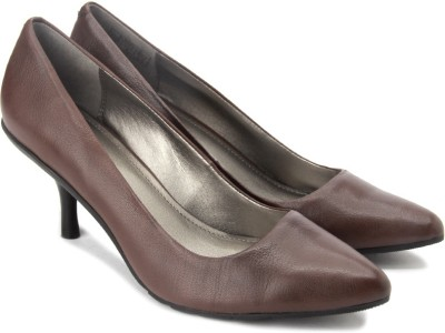 Kenneth Cole Hill Top Women Brown Heels