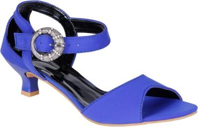 Lovely Chick Women Blue Heels