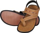 Kraasa Men Tan Sandals