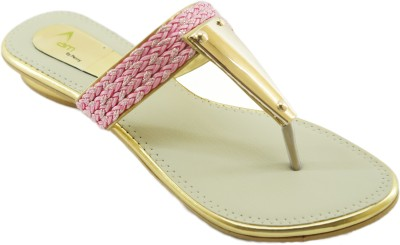 AM by Penny Women Pink Flats