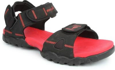 Mmojah Men Black, Red Sandals