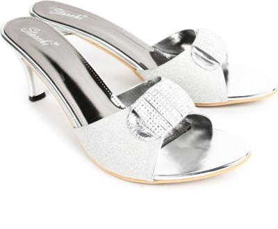 Starchi Women Silver Heels