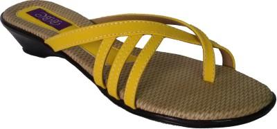 SBR Women Yellow Flats